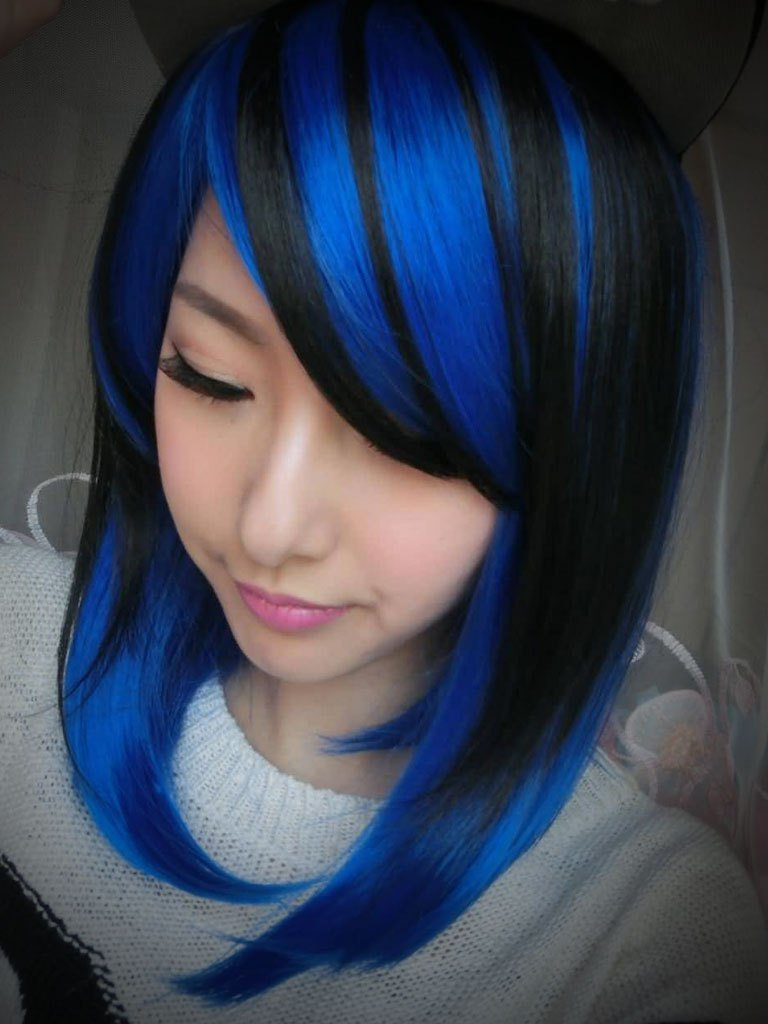 The Best Guide On How To Go About Best Blue Black Hair Color Hair Pictures
