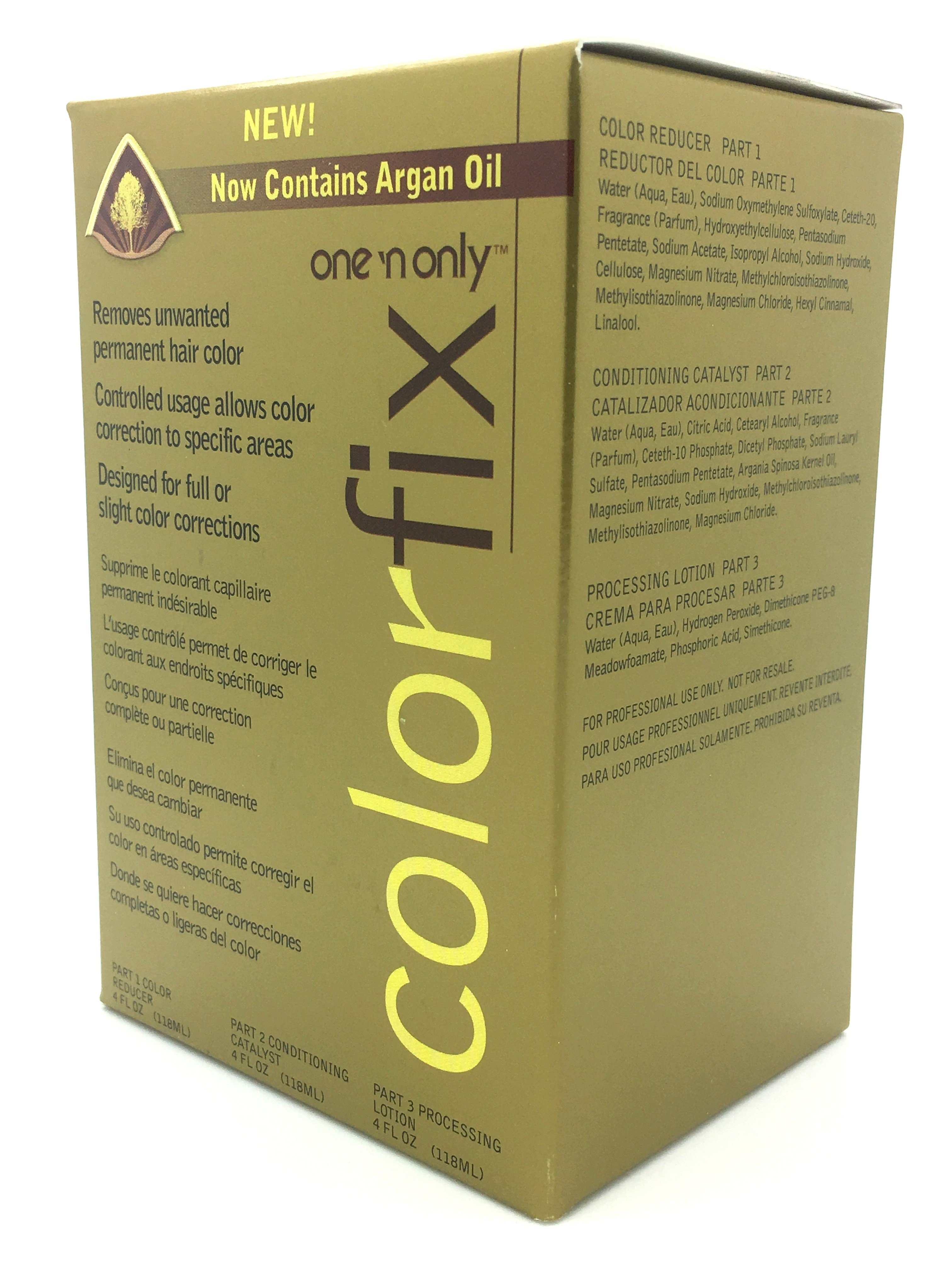 The Best One N Only Colorfix Kit Permanent Hair Color Remover Pictures