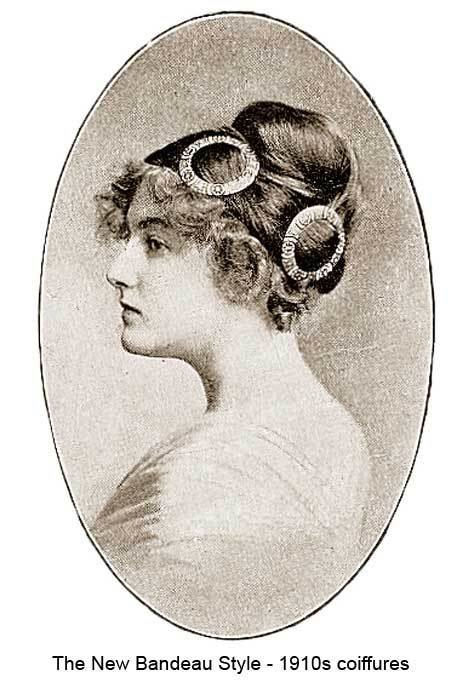 The Best 1910 Hairstyles – New Coiffures Of The Summer Girl Pictures