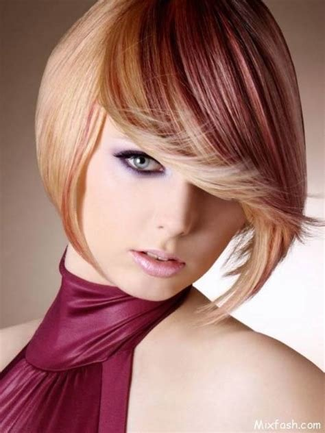 The Best 2015 Hair Color Trends For Short Hair Short Hairstyles 2016 Pictures