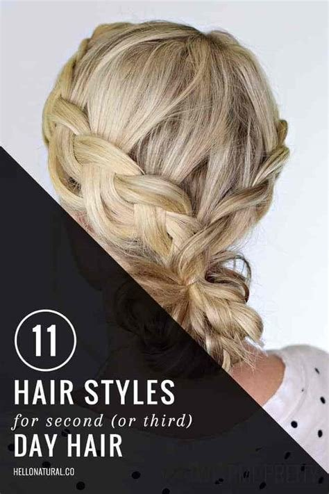 The Best 11 Gorgeous Second Day Hairstyles Helloglow Co Pictures