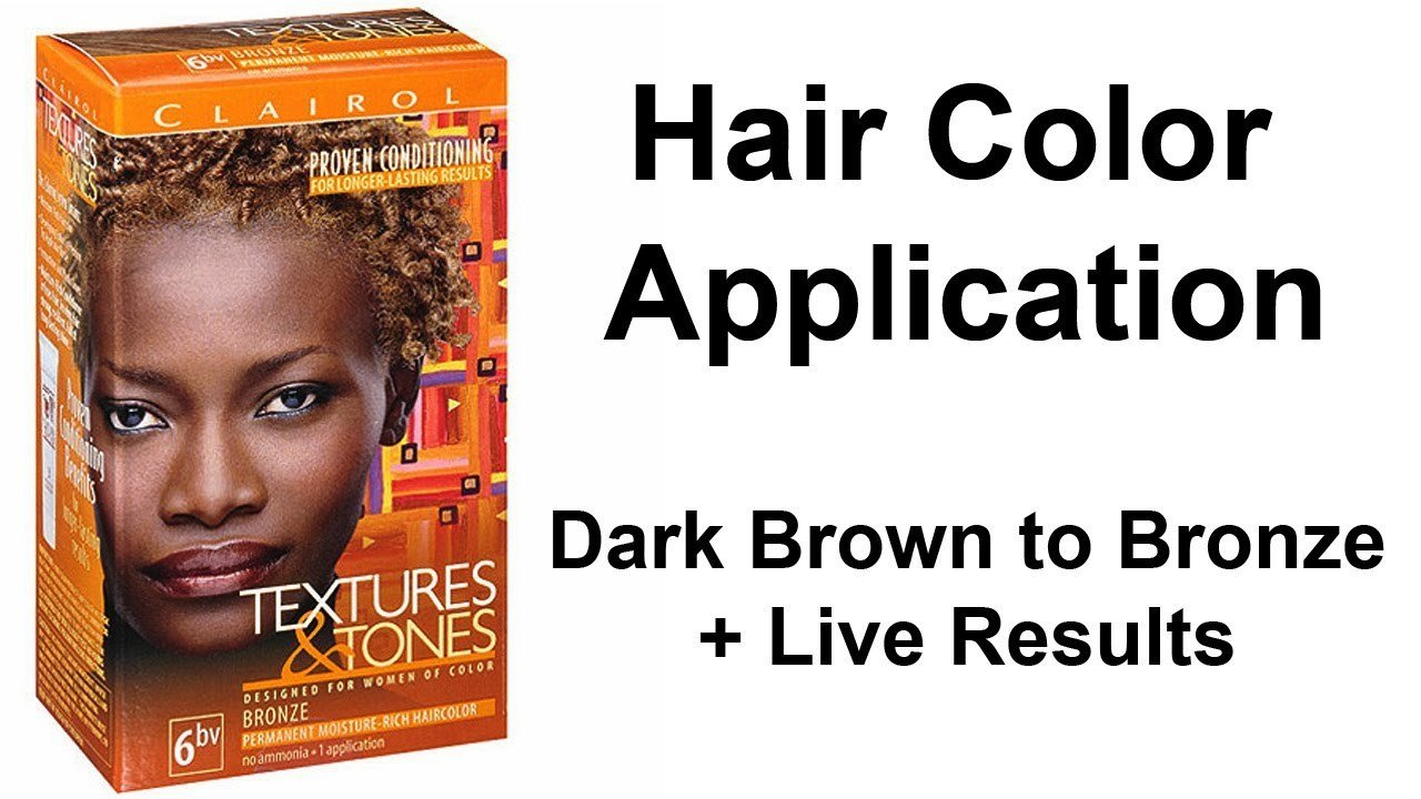 The Best Hair Color Application Dark Brown To Bronze Live Pictures