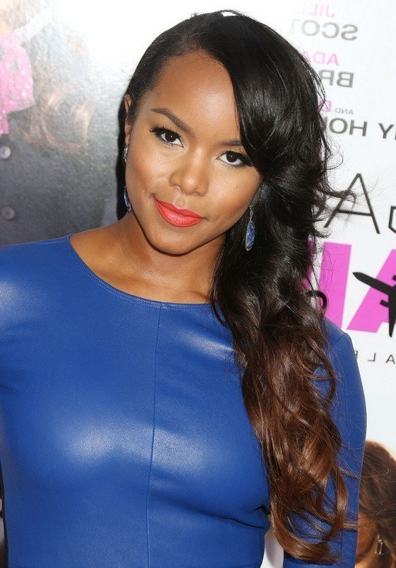 The Best Letoya Luckett Layered Long Black To Brown Ombre Side Pictures