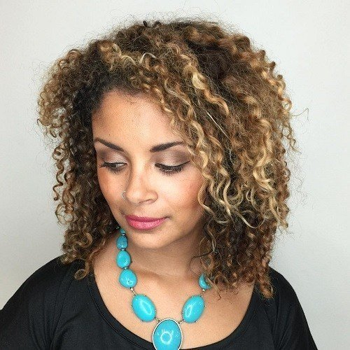 The Best 40 Different Versions Of Curly Bob Hairstyle Pictures