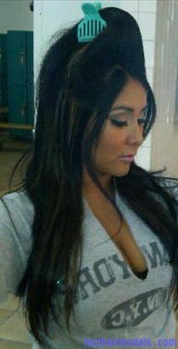 The Best Snooki Bump Hairstyle Last Hair Models Hair Styles Pictures