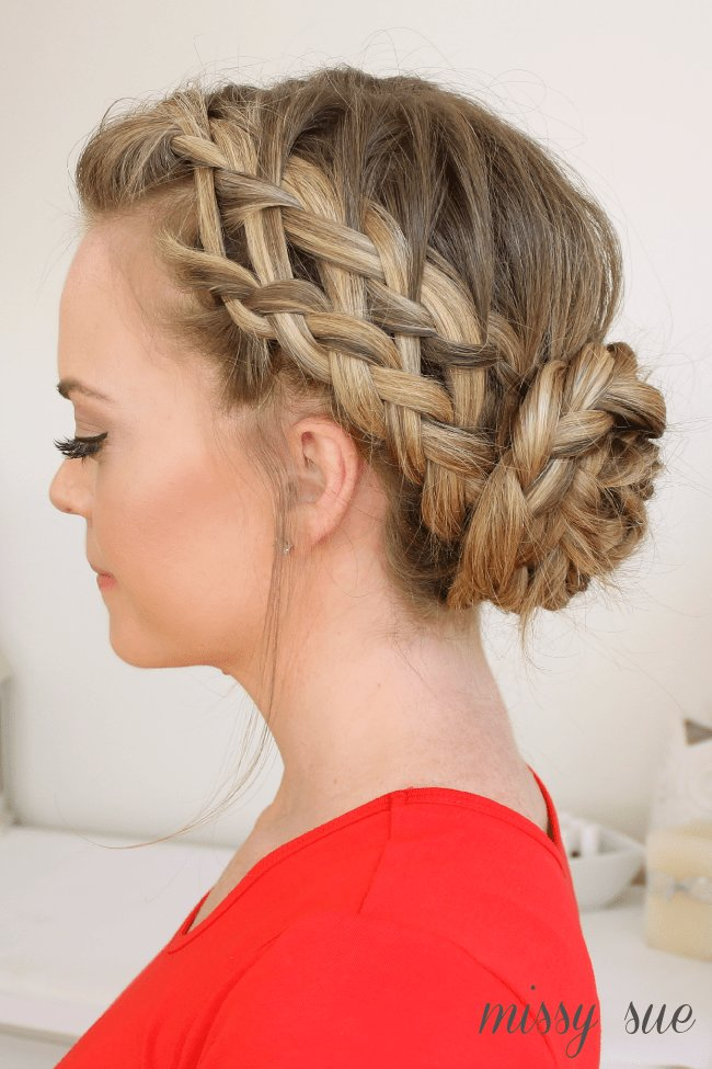 The Best Waterfall Dutch French Braided Bun Pictures
