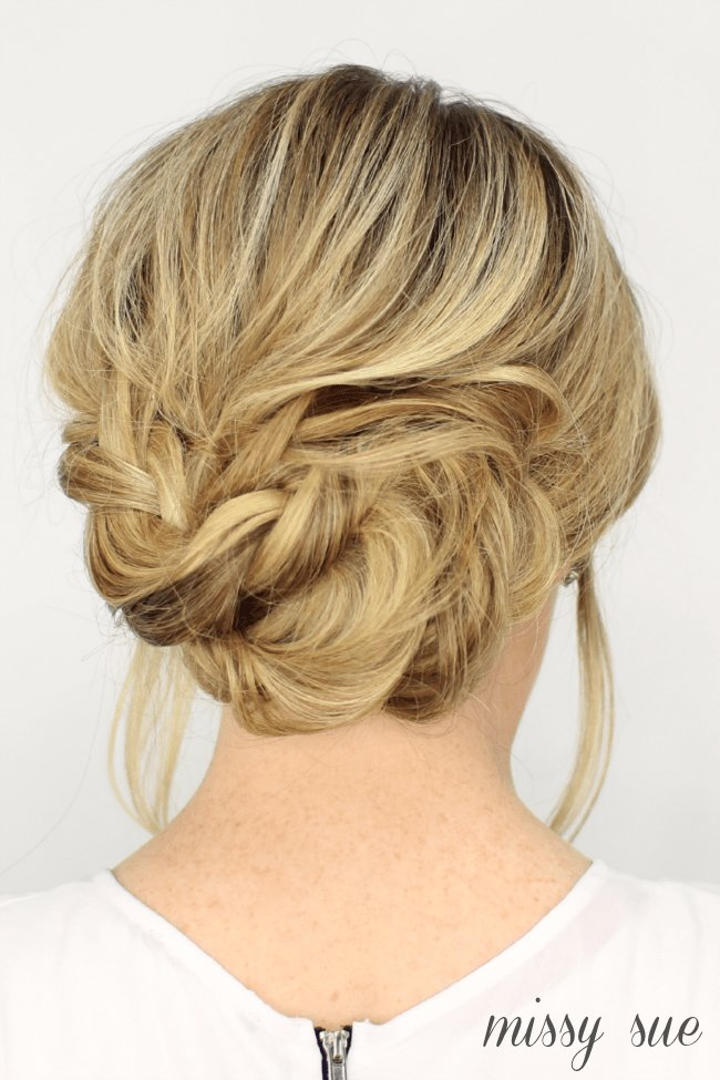 The Best Fancy French Braid Updo Pictures