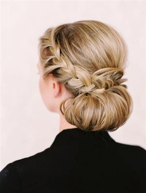 The Best A Braided Updo For Bridal Showers And Beyond 15 Minute News Pictures