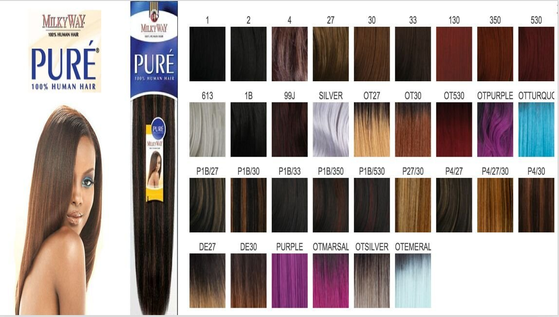 The Best Milky Way Pure Colors Hairstyle Inspirations 2018 Pictures