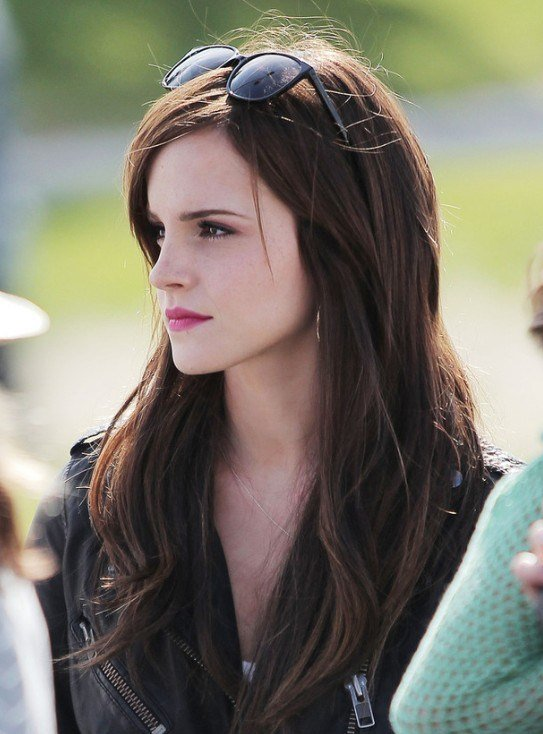 The Best Emma Watson Easy Long Layered Hairstyles Popular Haircuts Pictures