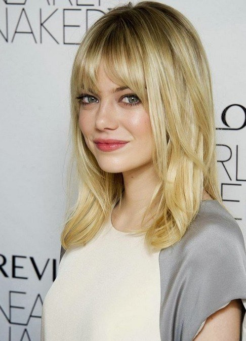 The Best 2014 Medium Hairstyles With Bangs For Fine Hair Popular Haircuts Pictures