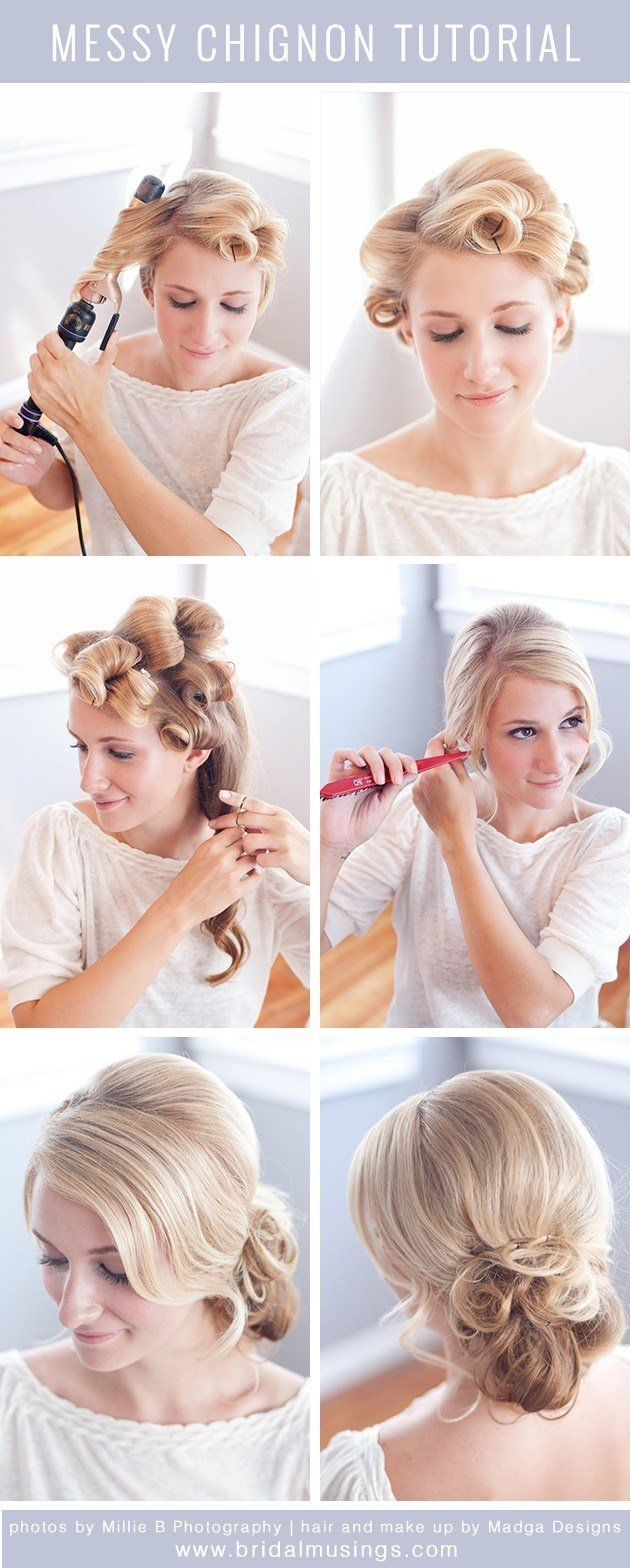 The Best Messy Bun Hairstyle Tutorial Updos For Prom Popular Haircuts Pictures