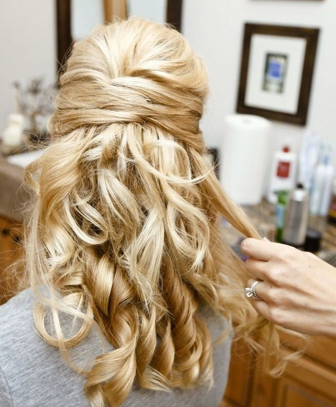 The Best 30 Hottest Bridesmaid Hairstyles For Long Hair Popular Pictures