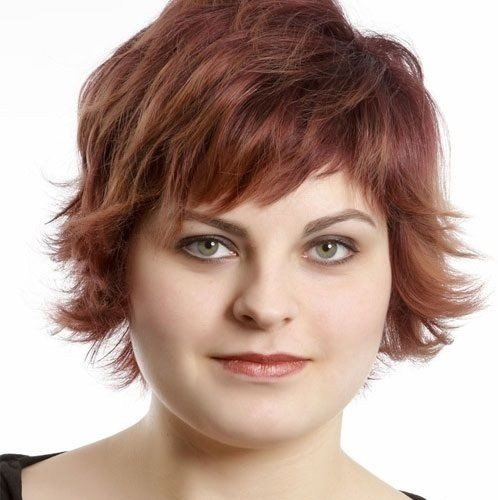 The Best Round Full Face Women Hairstyles For Short Hair Popular Pictures
