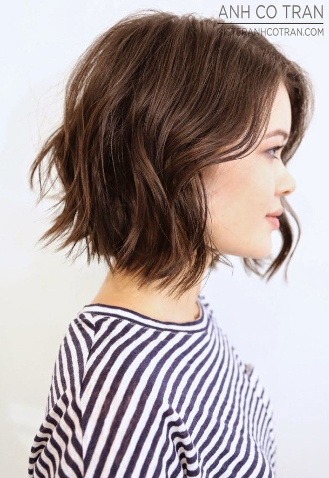 The Best 21 Textured Choppy Bob Hairstyles Short Shoulder Length Pictures