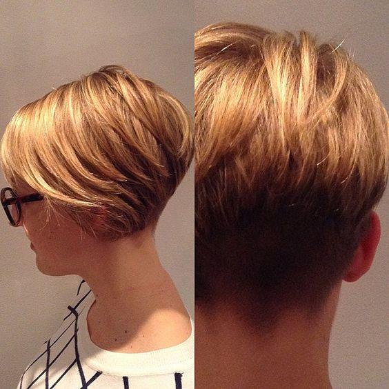 The Best 30 Trendy Stacked Hairstyles For Short Hair Practicality Pictures