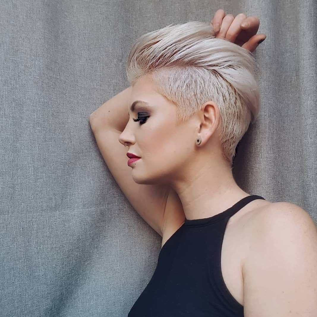 The Best 10 Edgy Pixie Haircuts For Women Best Short Hairstyles 2019 Pictures