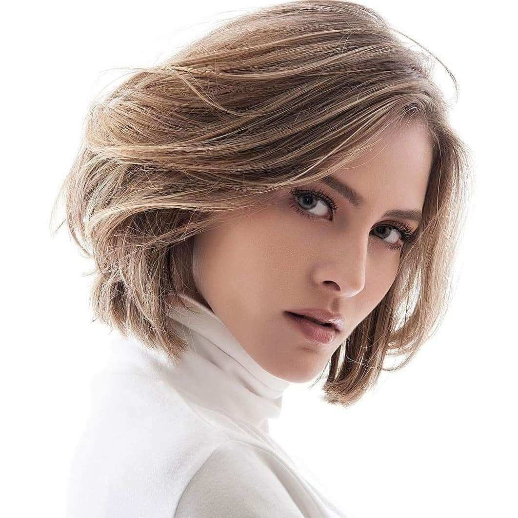 The Best 10 Medium Bob Haircut Ideas Casual Short Hairstyles For Pictures