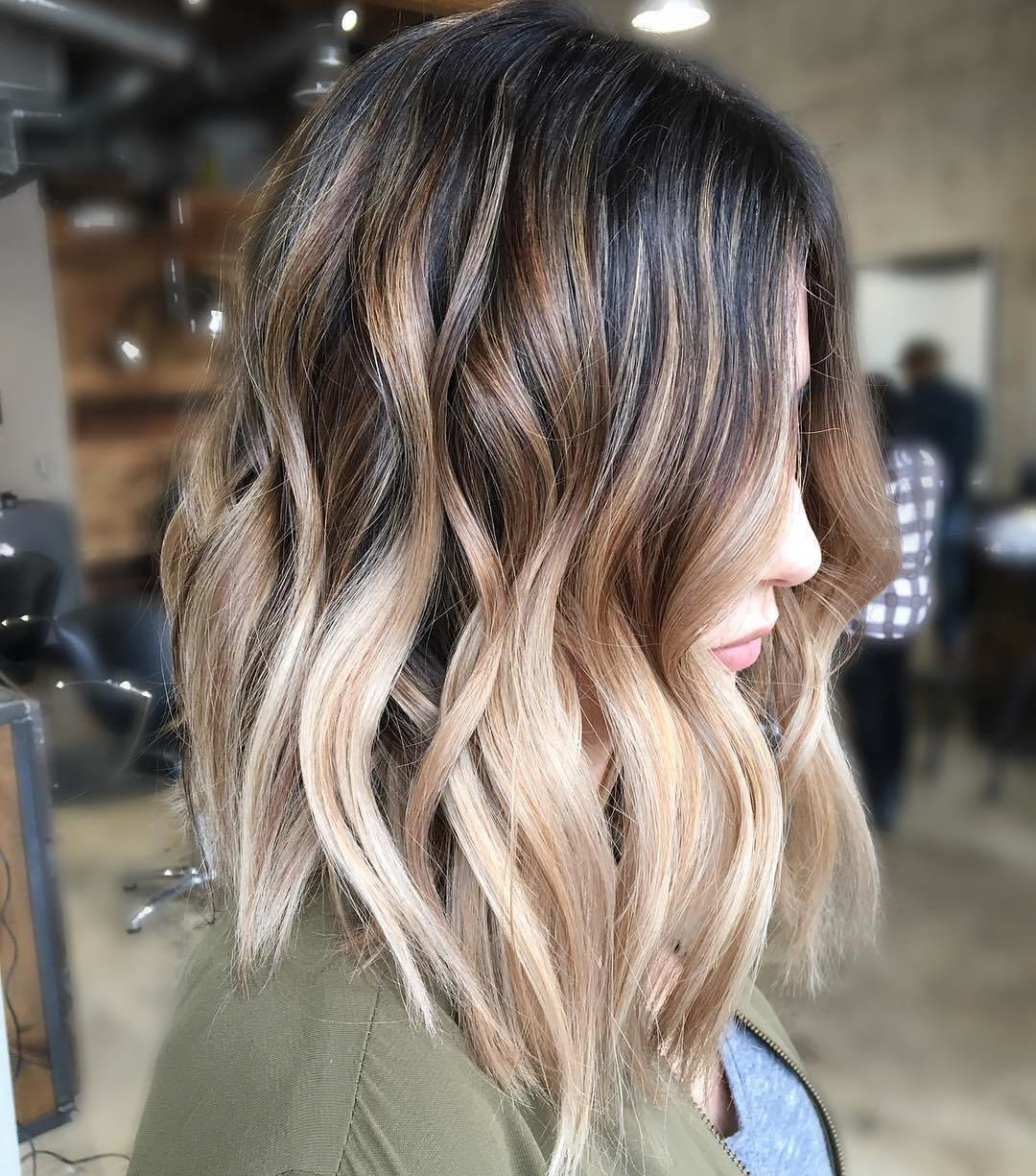 The Best 10 Balayage Ombre Hair Styles For Shoulder Length Hair Pictures