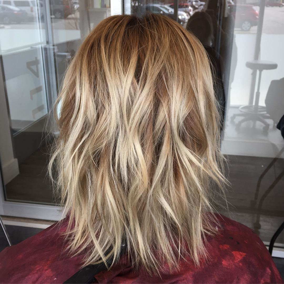 The Best 10 Trendy Choppy Lob Haircuts For Women Best Medium Hair Pictures