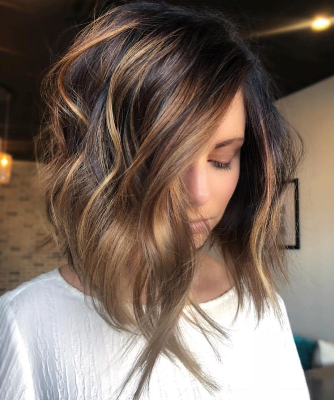 The Best Stylish Ombre Balayage Hairstyles For Shoulder Length Hair 2019 Medium Haircut Popular Haircuts Pictures