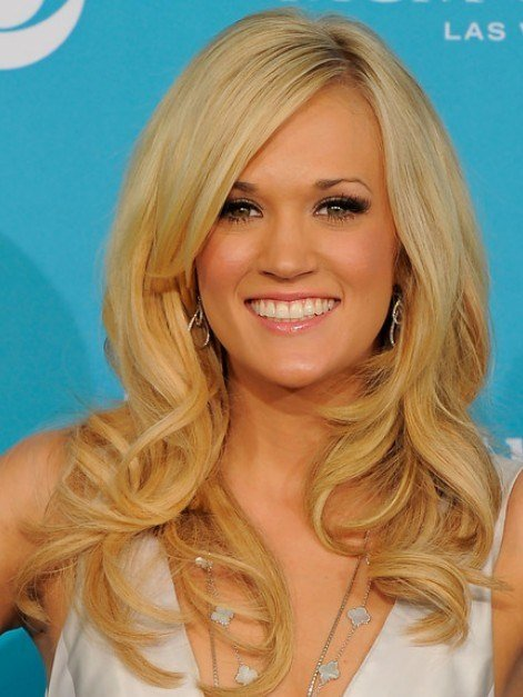The Best Carrie Underwood Long Hairstyles Popular Haircuts Pictures