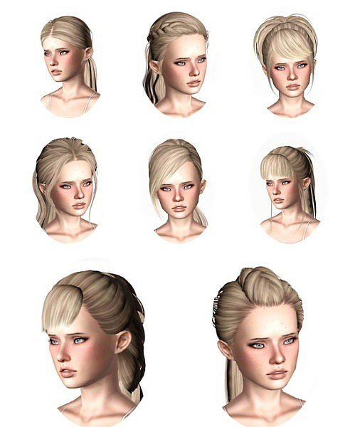 The Best The Sims 3 Skysims Hairstyles Part 2 By Wickedsims Pictures