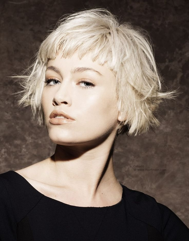 The Best Super Short Bob Hairstyles With Bangs Hair I Love Pictures