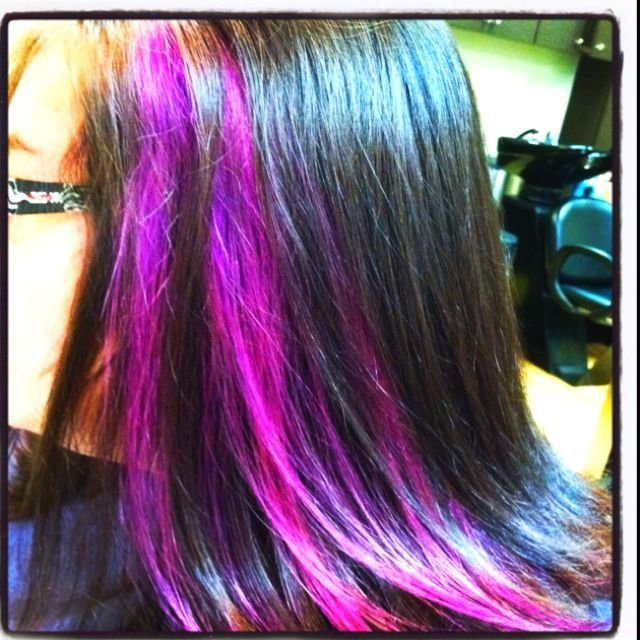 The Best Peek A Boo Color Hair Ideas Pinterest Pictures