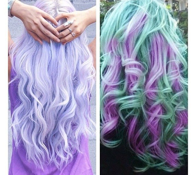 The Best Multi Colored Hair Color Ideas Hair Pinterest Pictures