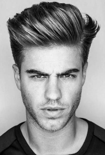 The Best 75 Men S Medium Hairstyles For Thick Hair Manly Cut Ideas Pictures