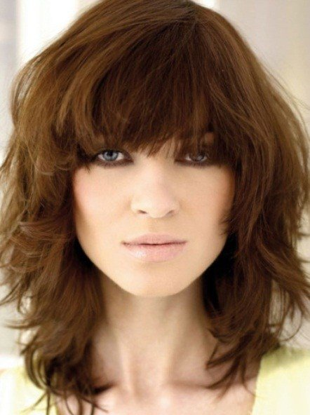 The Best 20 Classy Long And Medium Sh*G Haircuts Pictures