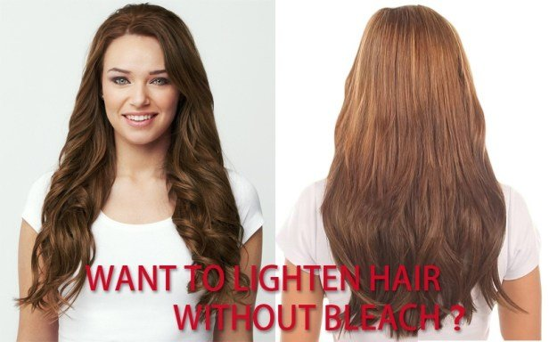 The Best How To Lighten Hair Without Bleach Pictures