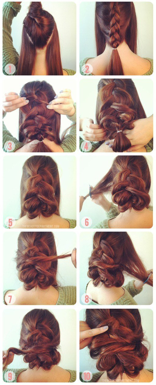 The Best 17 Quick And Easy Diy Hairstyle Tutorials Pictures