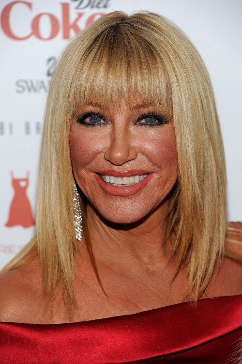 The Best 2011 Suzanne Somers Hairstyles Celebrity Hair Cuts Pictures