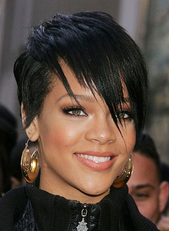 The Best Latest Hairstyle 2015 New Short Haircuts Thin For Black Pictures