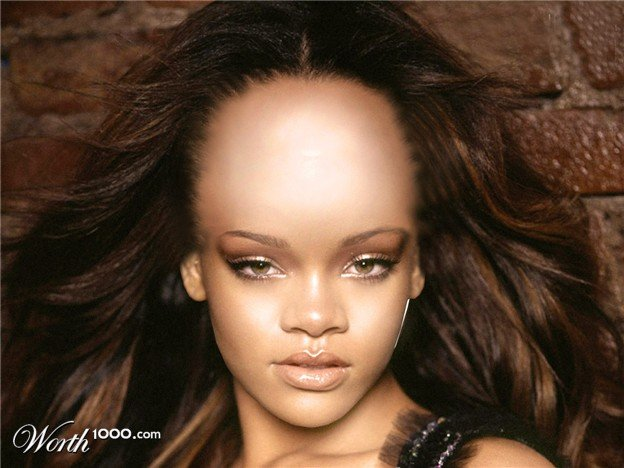 The Best Hairstyle Big Forehead Pictures
