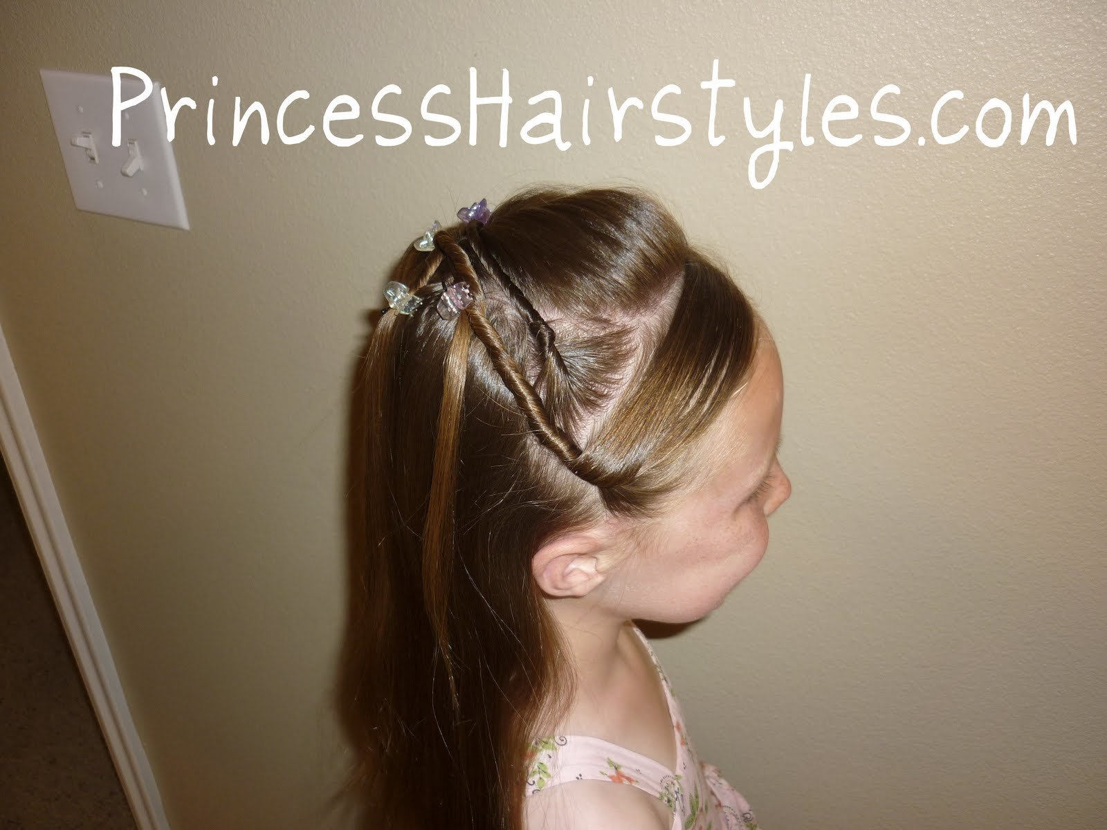 The Best Tween Twists Princess Hairstyle Hairstyles For Girls Pictures