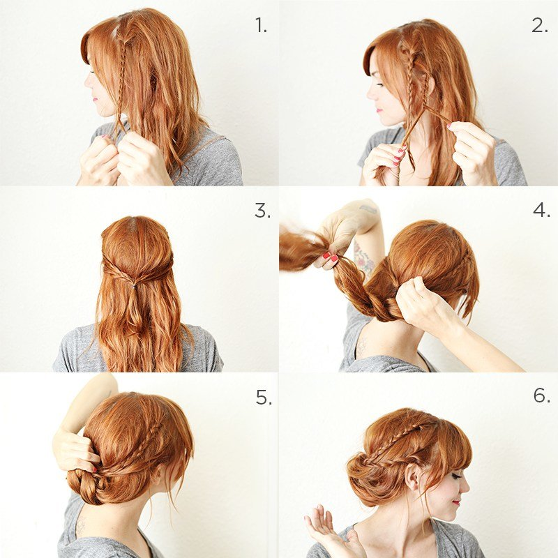 The Best How To Style A Braided Chignon – A Beautiful Mess Pictures