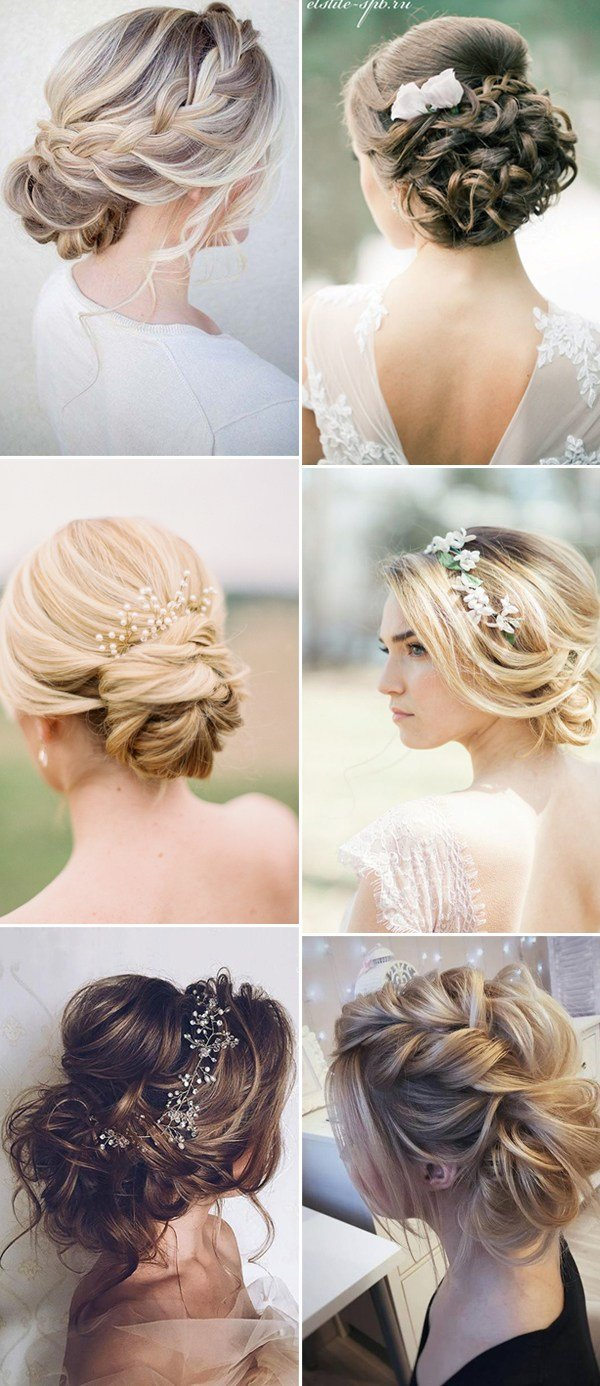 The Best 2017 New Wedding Hairstyles For Brides And Flower Girls Pictures