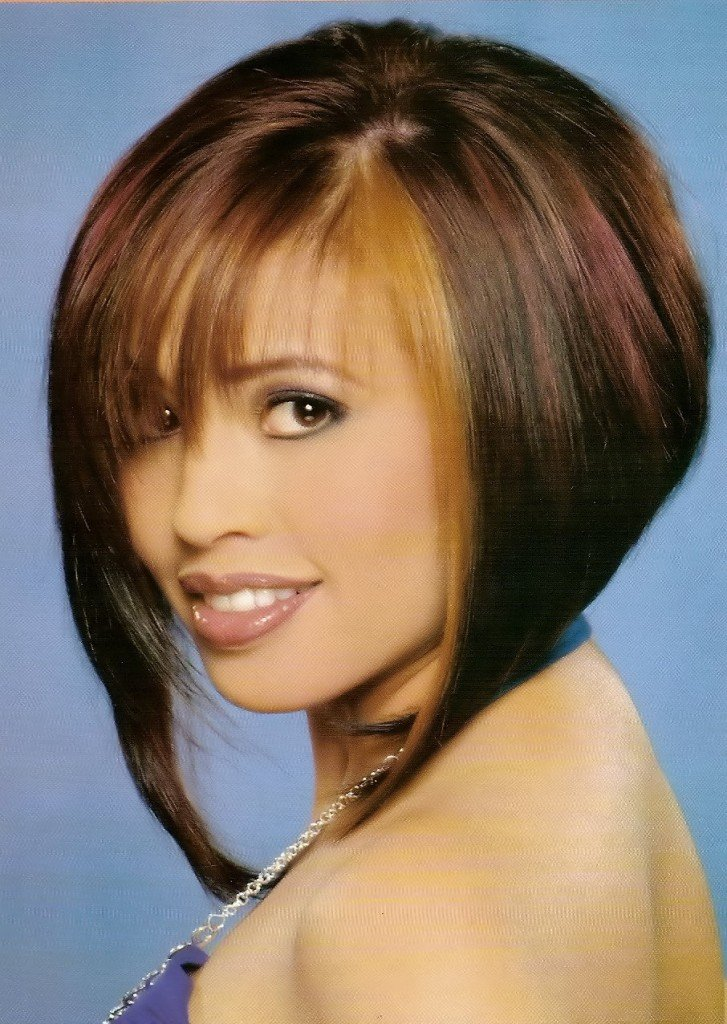 The Best Short Angled Bob Hairstyles Hairstyles Populers Pictures