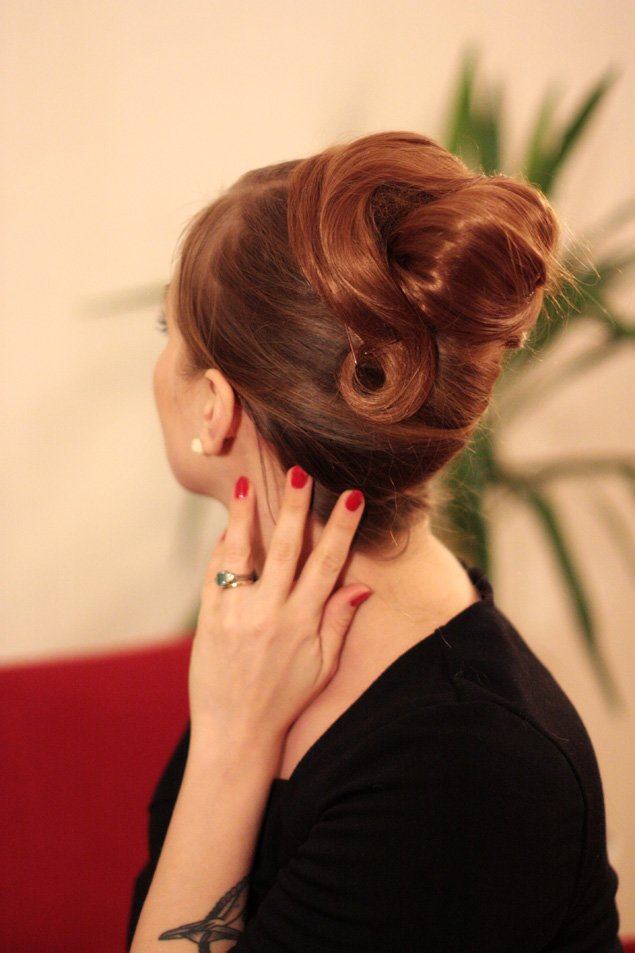 The Best The Freelancer S Fashionblog The 1960 S Big Twirl Updo S Pictures