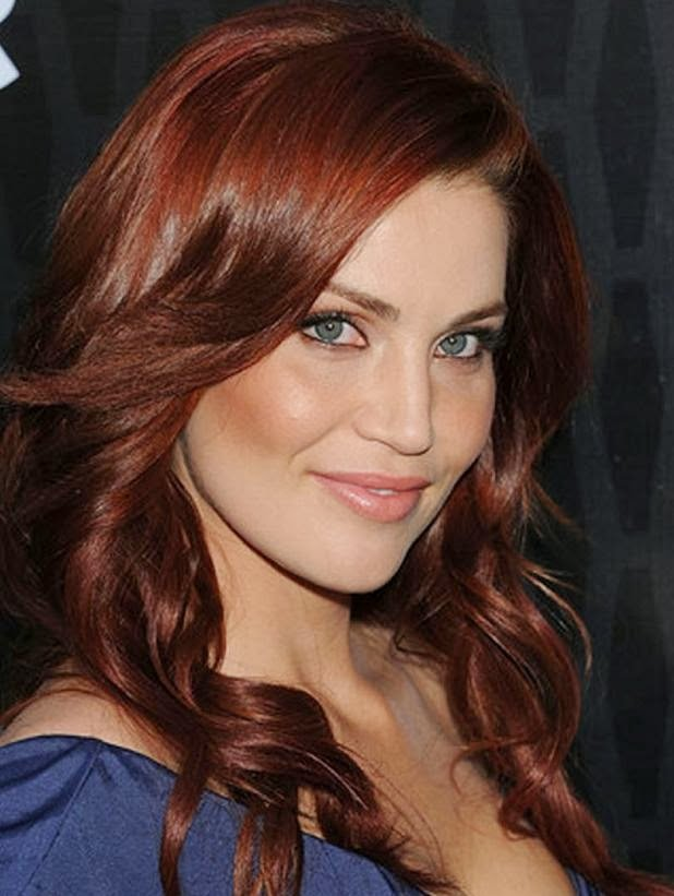 The Best Hairstyle Elibrodepoesia Medium Length Red Hairstyles For Pictures
