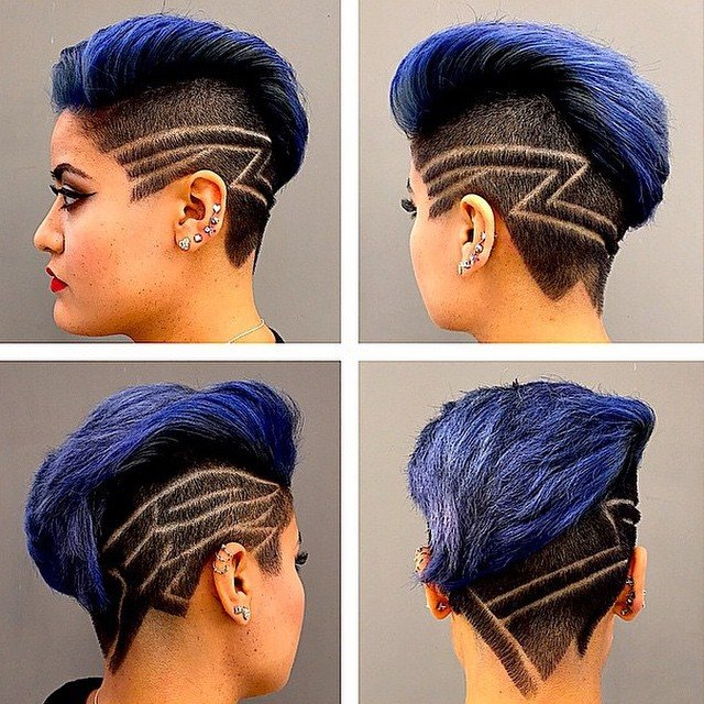 The Best Stylish Hair Tattoos For Girls Pictures