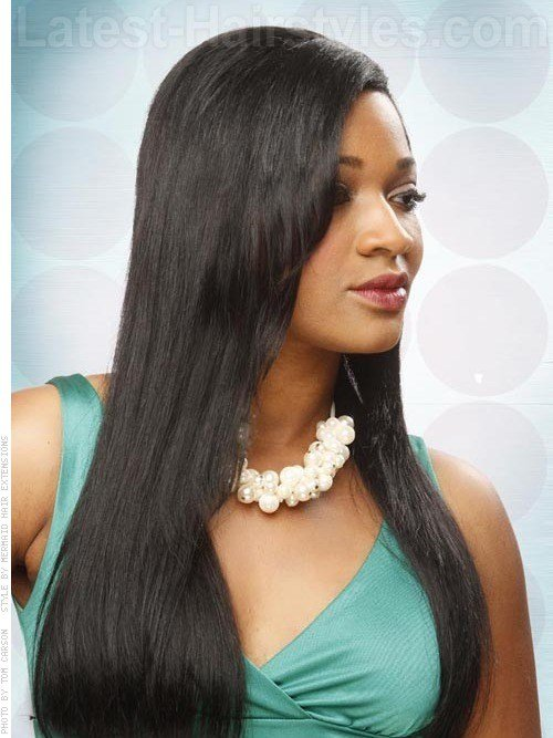 The Best 31 Long Straight Hairstyles That Are Hot Right Now Pictures