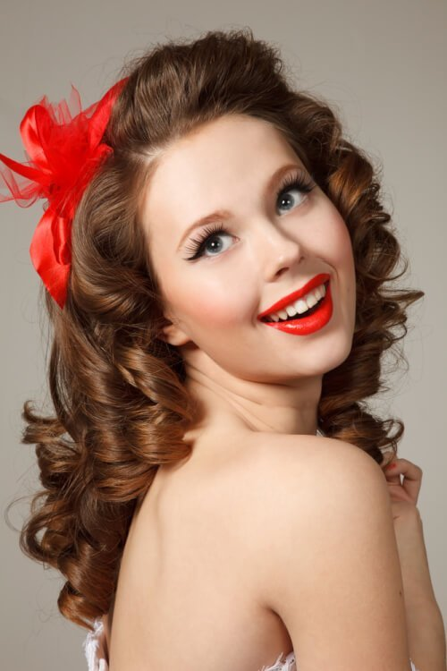 The Best 24 Pin Up Hairstyles That Scream Retro Chic Pictures