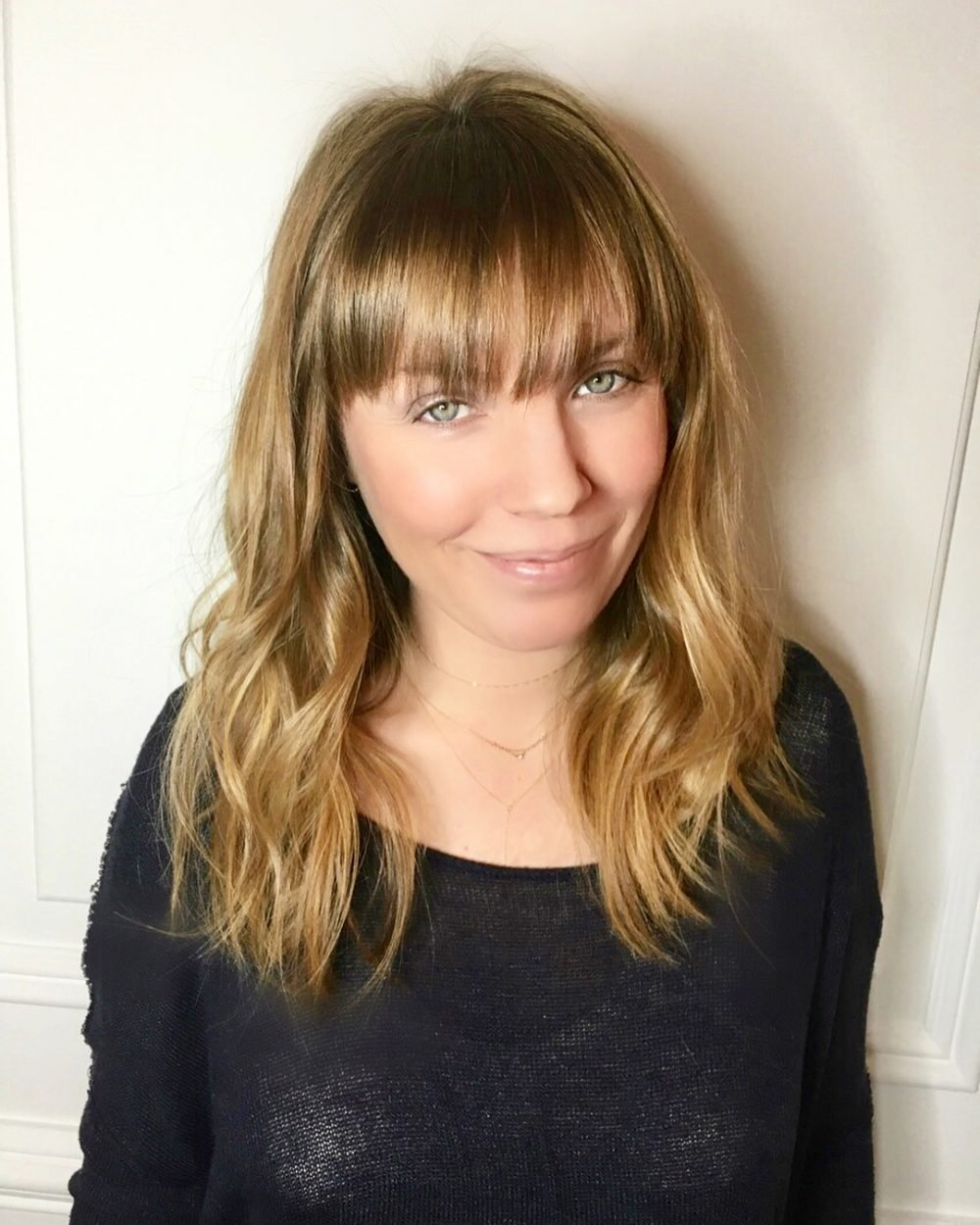 The Best 36 Popular Medium Length Hairstyles With Bangs Updated Pictures