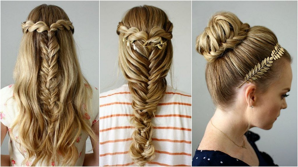 The Best Video Hair Tutorial 3 Awesome Hairstyles You Can Wear Pictures