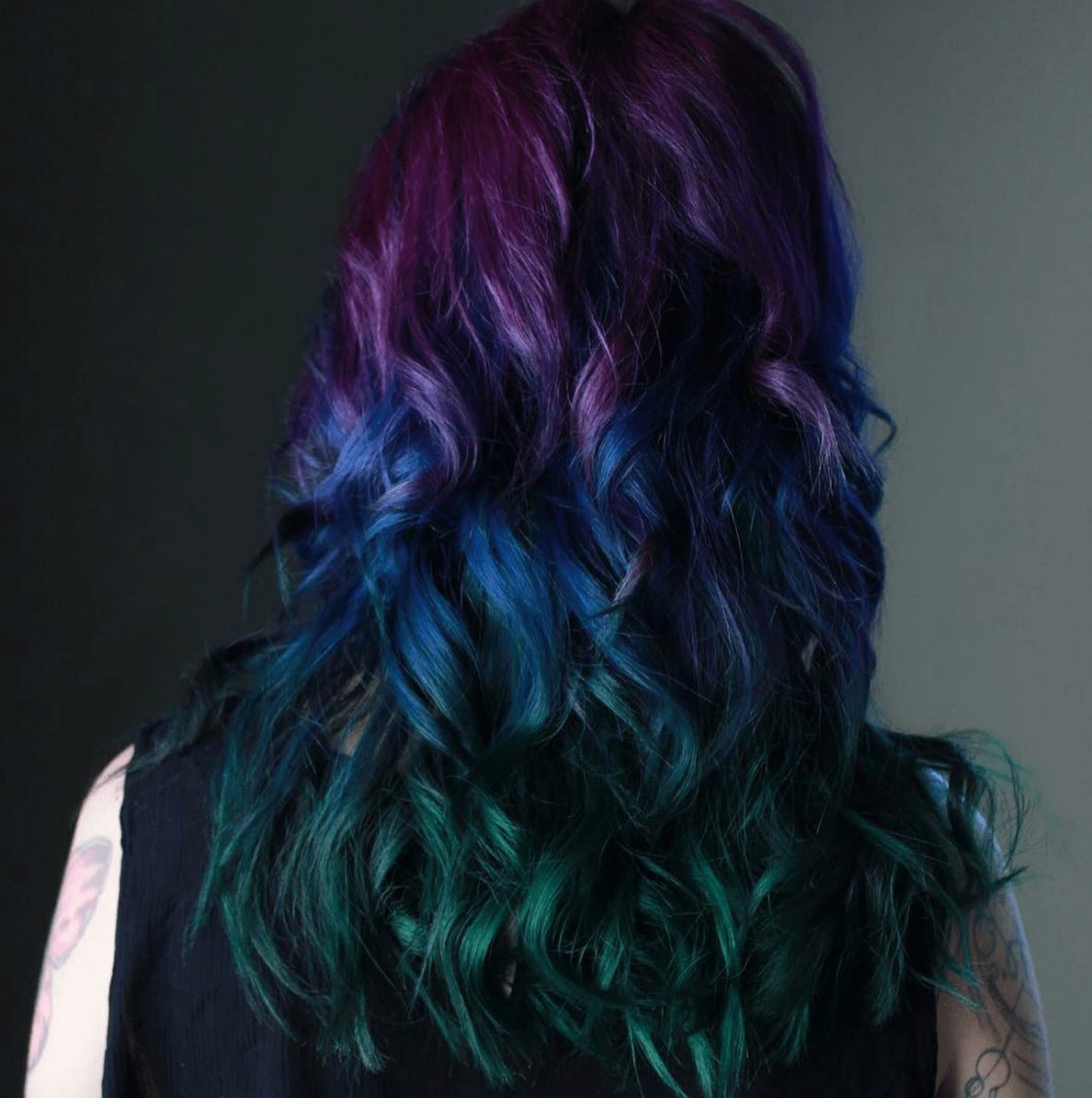 The Best Peacock Hair Color Trend Is Gorgeous And Captivating Double Peacock Pictures