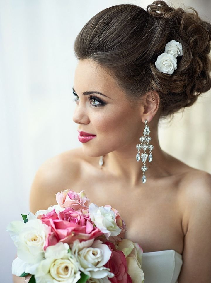 The Best 39 Elegant Updo Hairstyles For Beautiful Brides Pictures